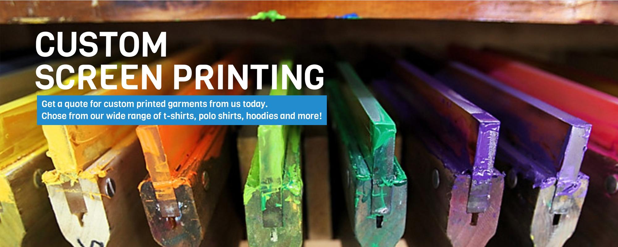 Screen Print Website Design